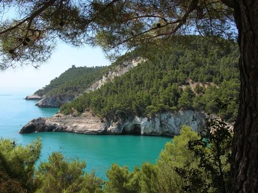 The Gargano Coast in Puglia, SouthernItaly