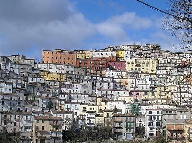 The Medieval Hill Town of Calitri