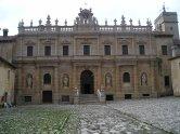 Courtyard Entrance to the Monastery at Padula