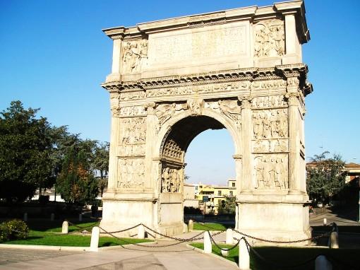 Trajan's Arch in Benevento