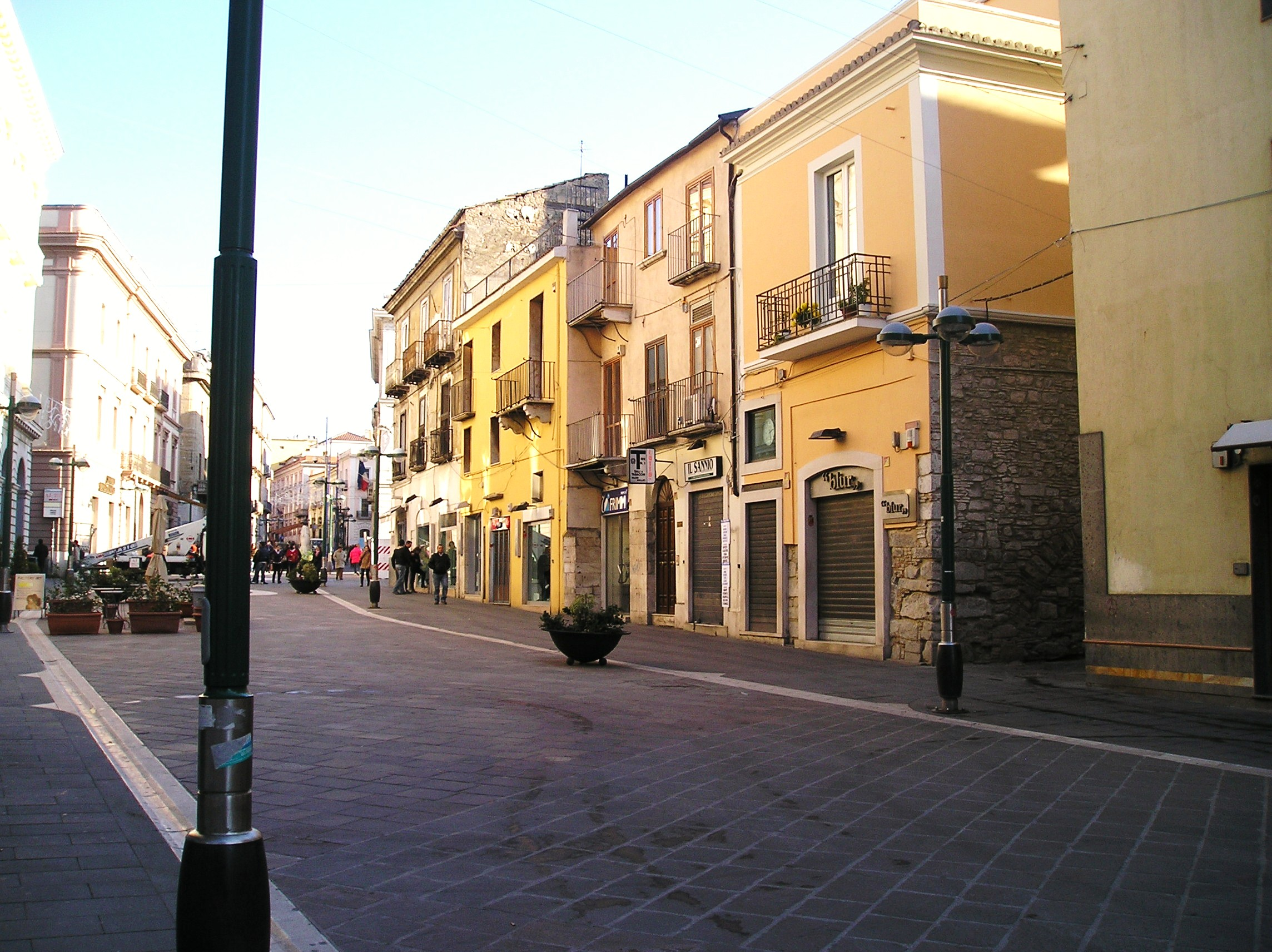 Benevento Italy  city pictures gallery : Pedestrain Zone in Benevento, Campania, Southern Italy